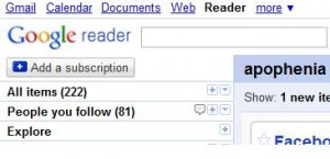 google reader Add a Subscription button feature.